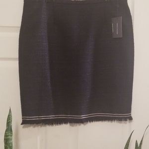 Navy Blue Tommy Hilfiger Mini Skirt